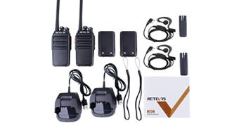 Retevis RT24 plus walkie talkie