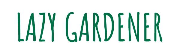 Lazy Gardener Logo, Lazygrdener