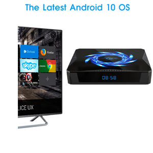 X96Q MAX  Android 10.0 TV box