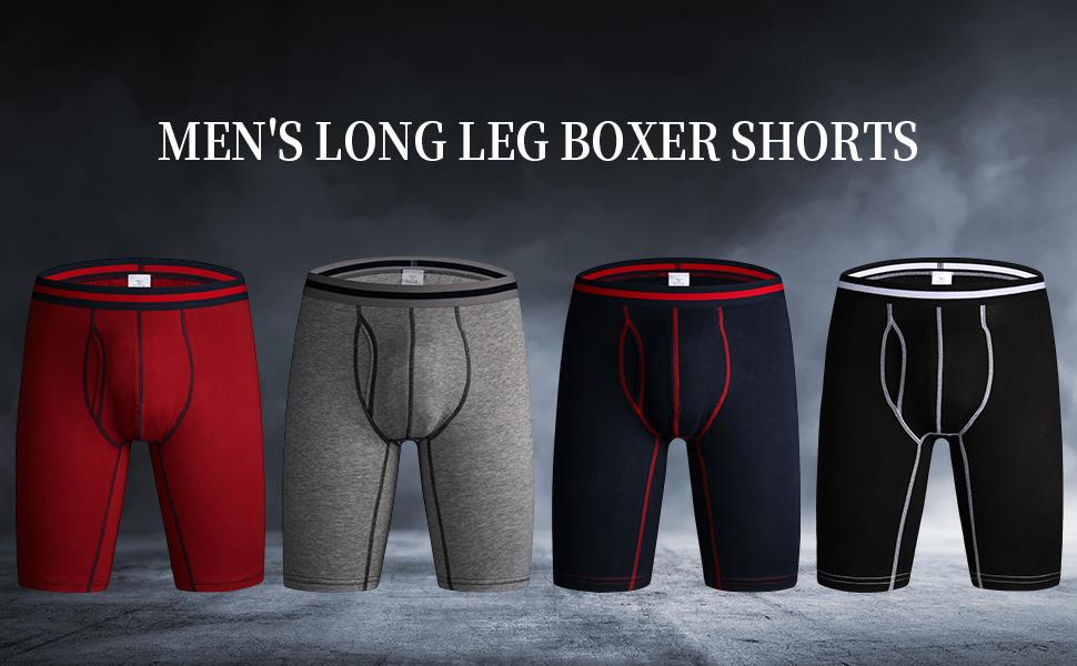 long boxer short mens