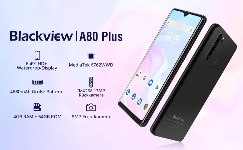 Blackview Smartphone ohne Vertrag