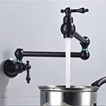 dual swing joints arm