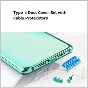 dust cover set plug green