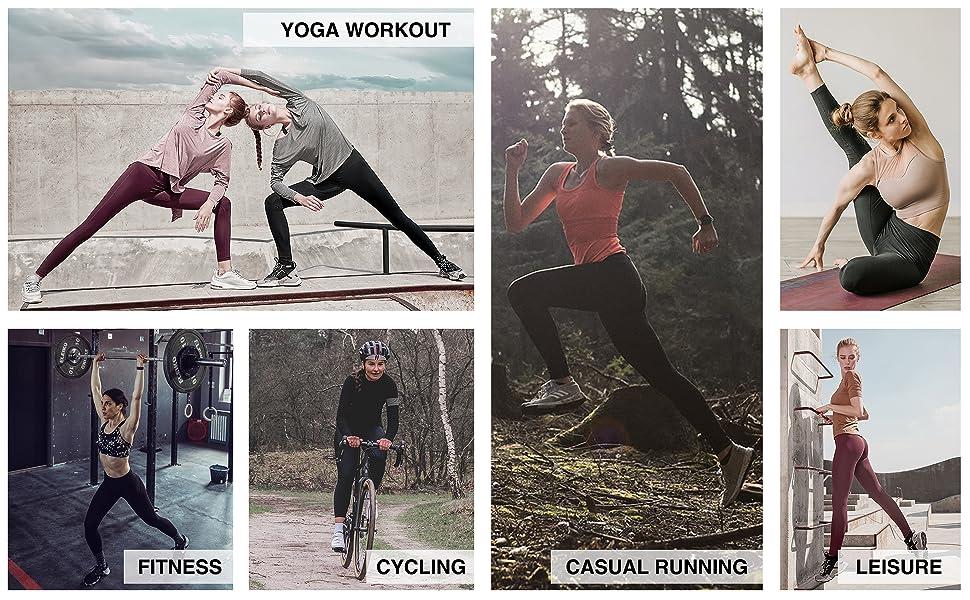 running sport workout pants for women