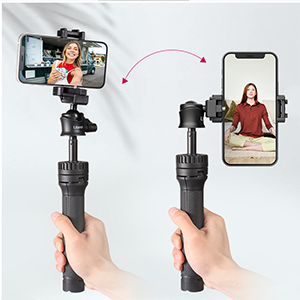 Supports horizontal and vertical video shooting