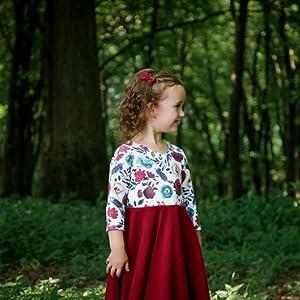 Floral Christmas Dress