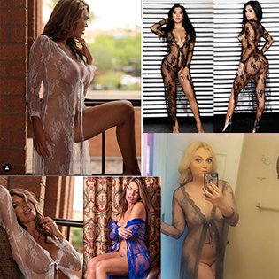 lingerie robe for women