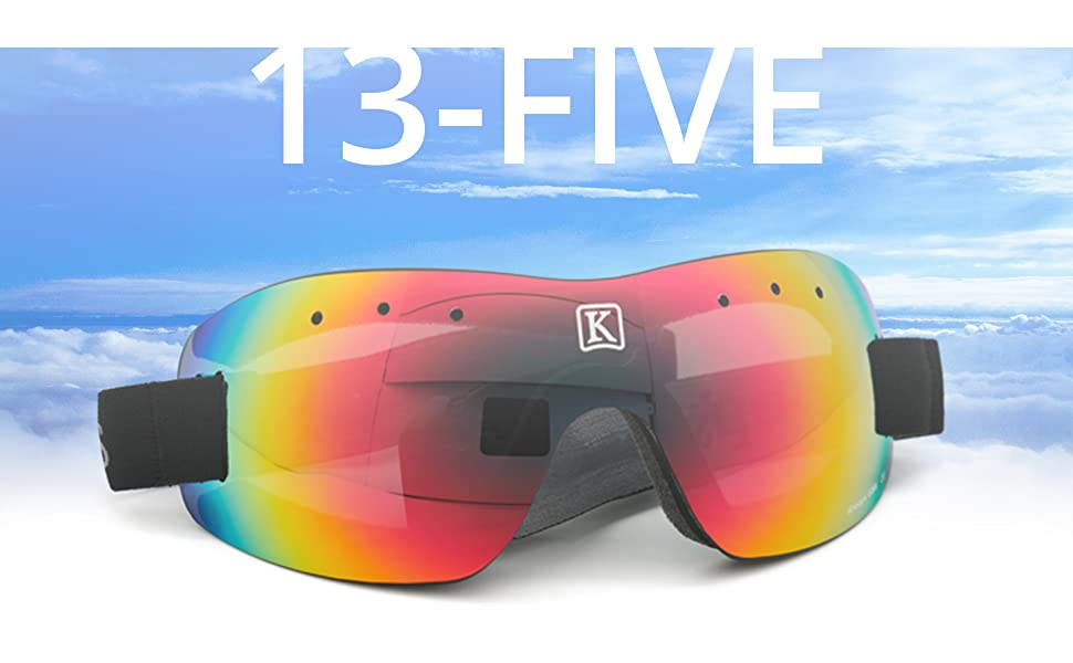 13-Five Goggles by Kroop's