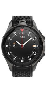 Amazon.com: AllCall Waterproof Smart Watch Android IP68 ...