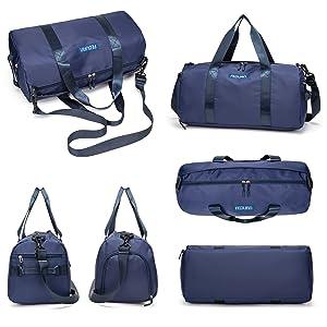 Duffle-bag duffel-bag faltbar freizeit-tasche reise-tasche shopping-tasche handtasche allzweck