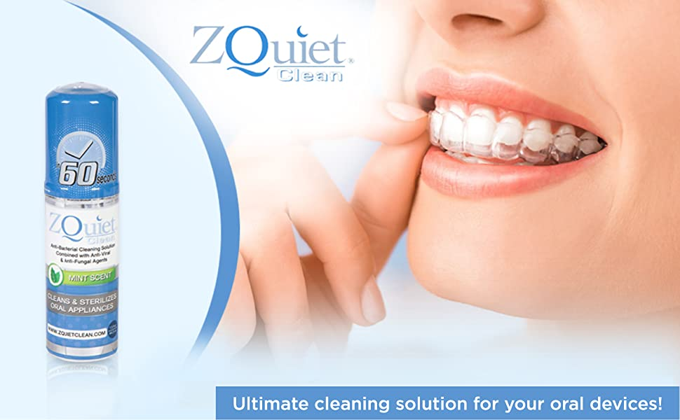 Ultimate cleaning solution for your oral devices