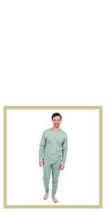 Leveret, mens pajamas, cotton pajamas