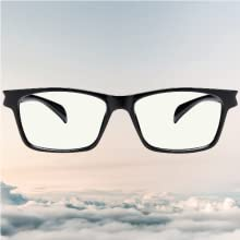 made with TR190 nylon material, these glasses are lightweight and contour to your face with ease