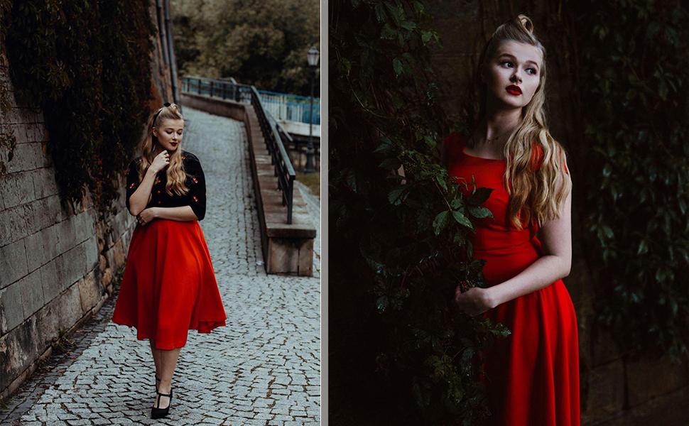 Modest Swing Dress