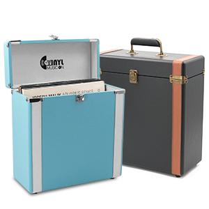 record boxes vinyl storage