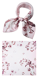 "21"" Mulberry Silk Square Scarf"