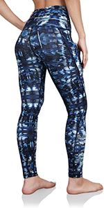 Out Pocket Printed Pants&Capris