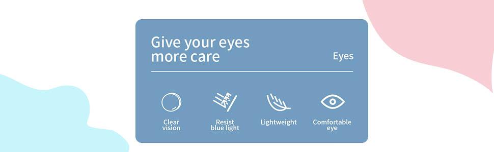 Round Anti-blue Glasses for Women Men, Retro Circle Lens Metal Frame Eyeglasses