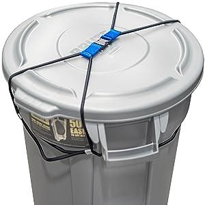 outdoor garage boutdoor garage bin universal strong chew strapin universal strong chew strap