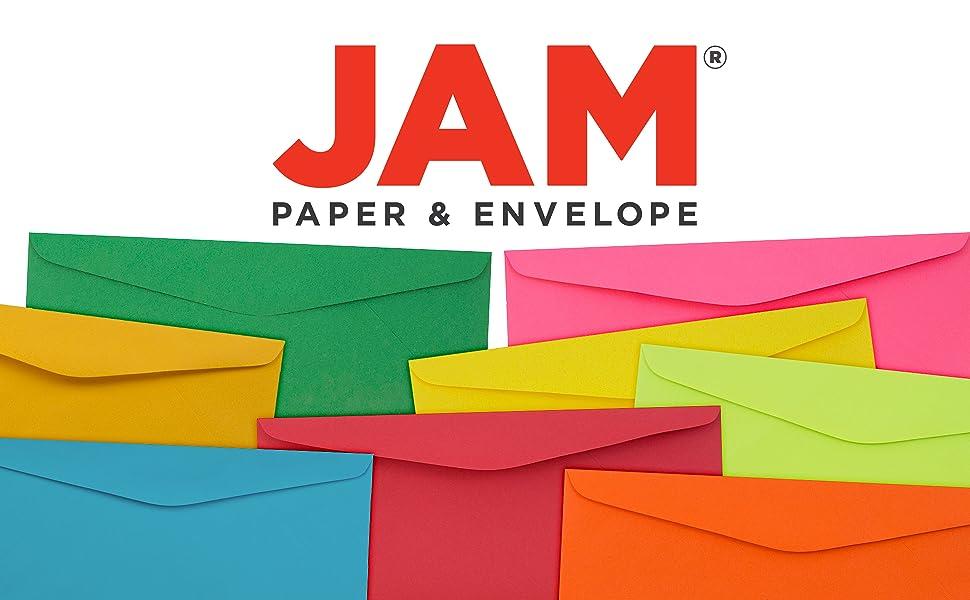 jam paper #9 business colored envelope