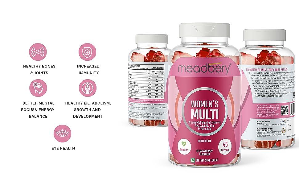 meadbery women's gummy