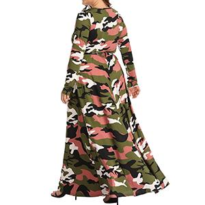 Camo maxi dresses 4