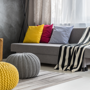 High-grade hidden zipper  velvet cushion covers