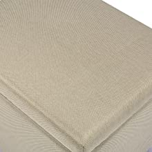 button tufted seat