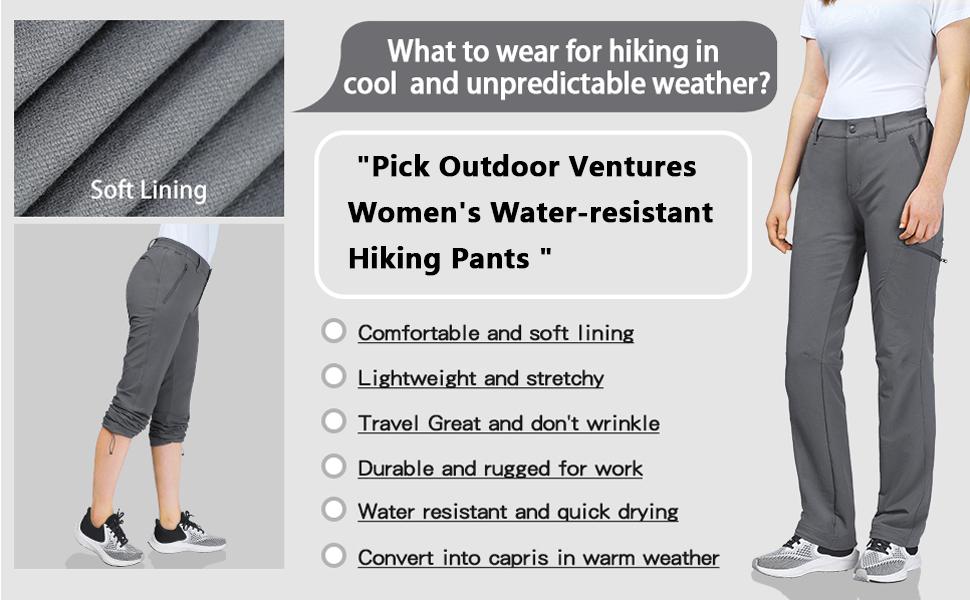 Outdoor Ventures womens Straight