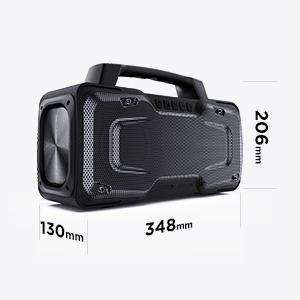 Speaker size