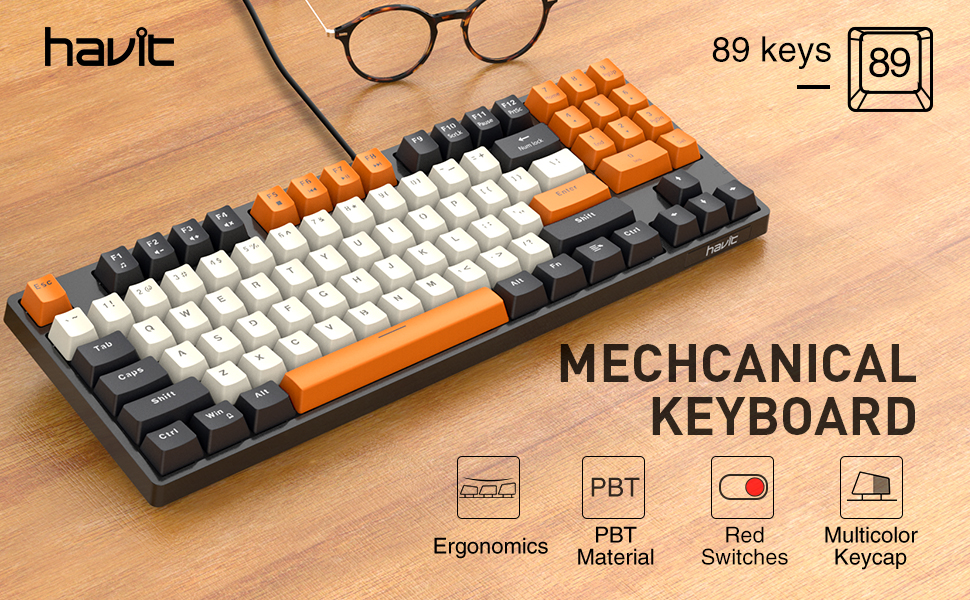 mechical keyboard red switch