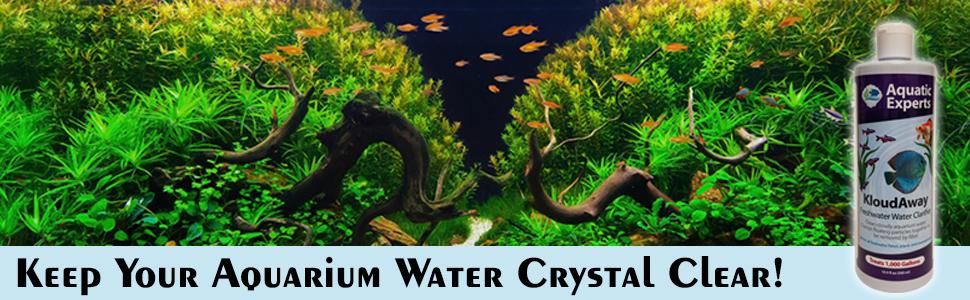 Keep Your Aquarium Water Crystal Clear!