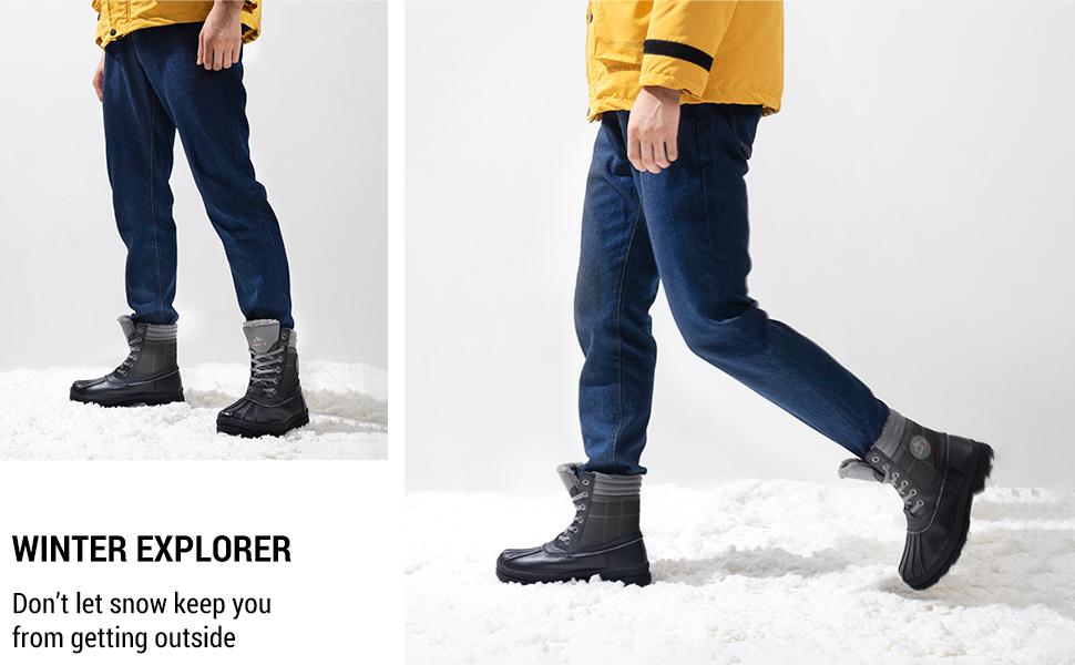 nortiv 8 mens snow winter boots