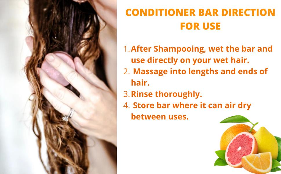 Conditioner Bar instructions