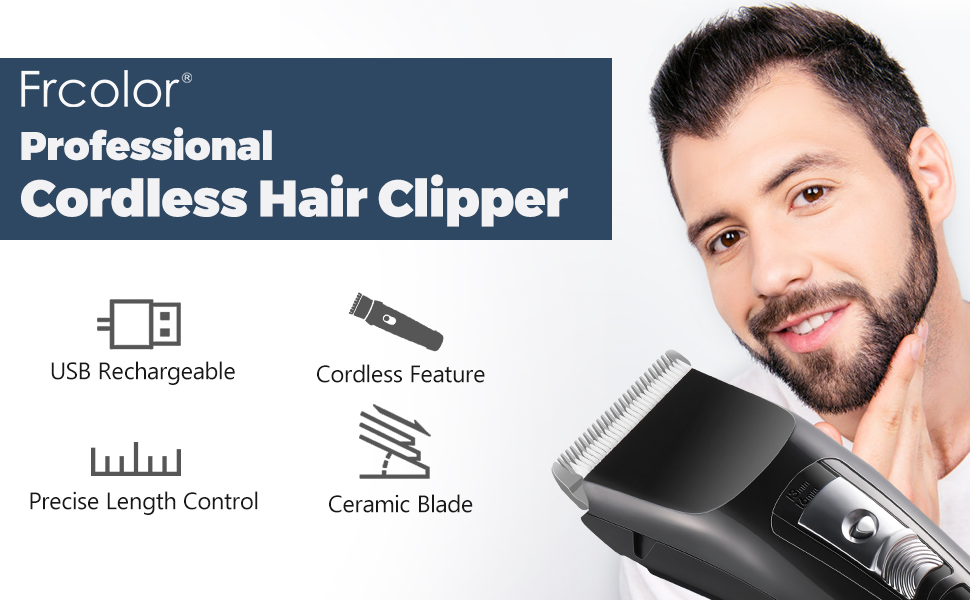 cordless clippers for men Frcolor 1