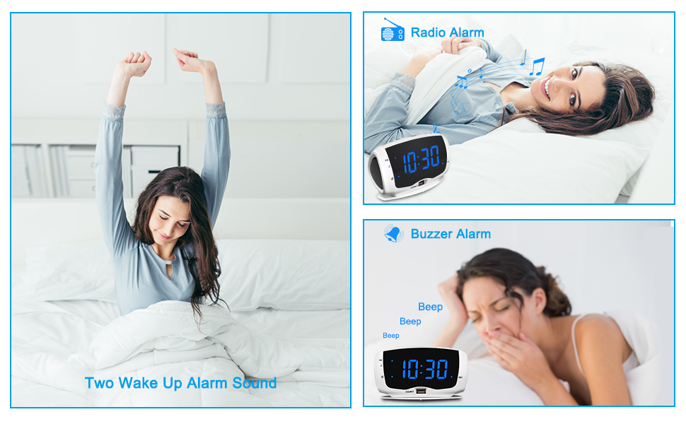 alarm clock radio for bedroom