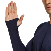 baleaf mens running shirts with thumbhoes