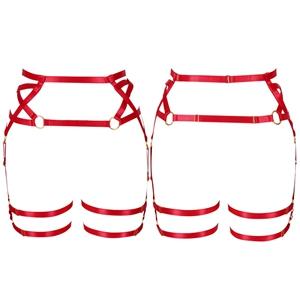 Harness Garter Belt+Red
