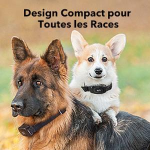 design compact pour toutes les races