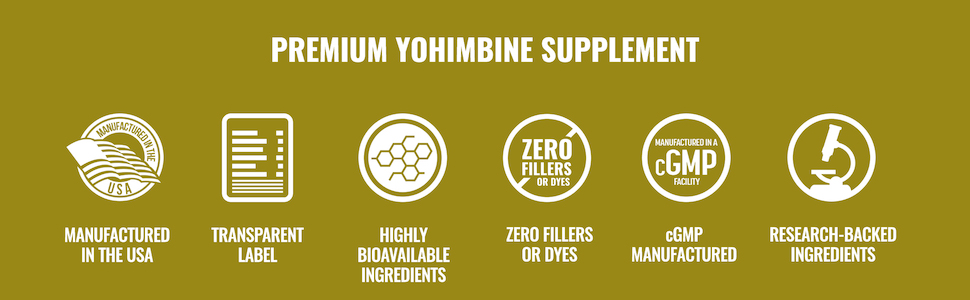 Premium Yohimbine Supplement
