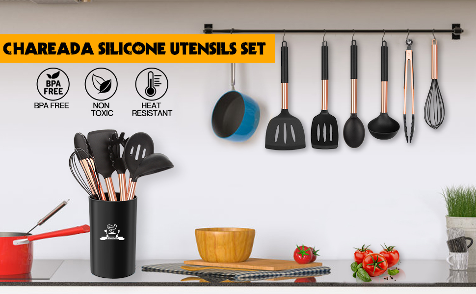 silicone utensils set