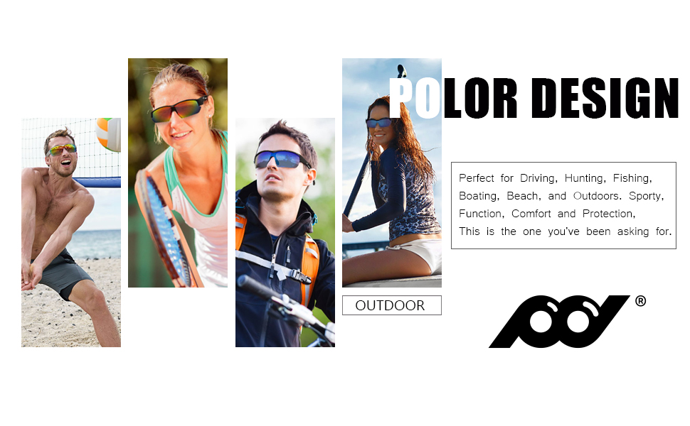 Sports Sunglasses UV Protection for Running Cycling Fishing