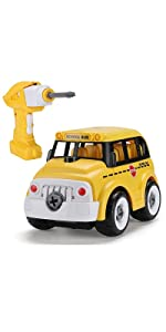 Take Apart Toy - School Bus