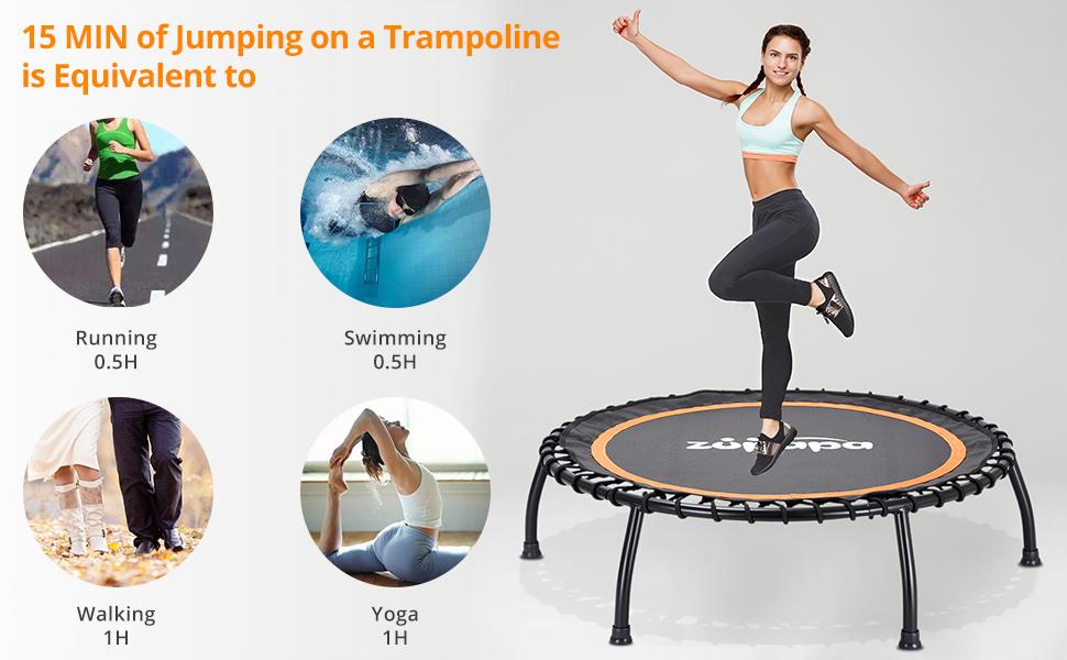 40-Inch Fitness Trampoline