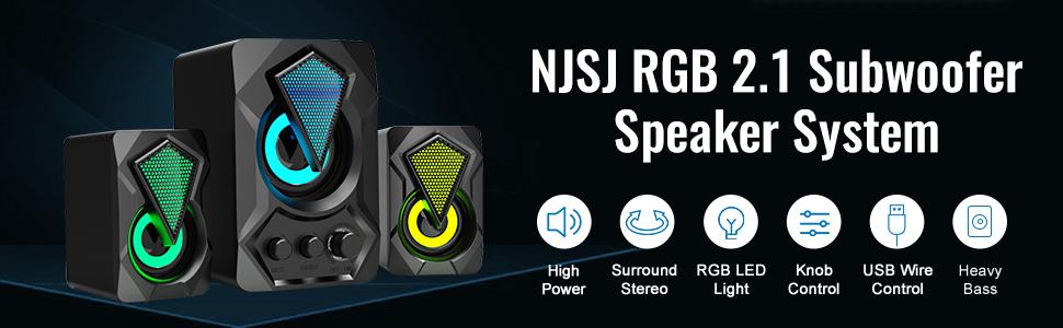 rgb gaming speakers