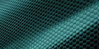 Close up image of the cool on lining showing the texture
