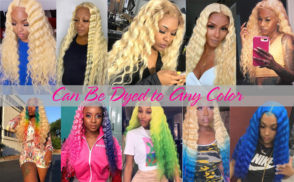 colored 613 blonde wigs