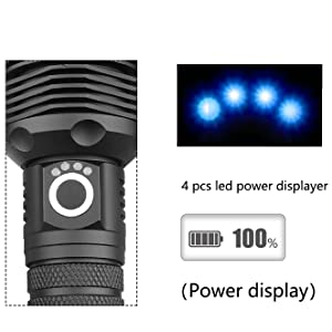 4 Led Power Display