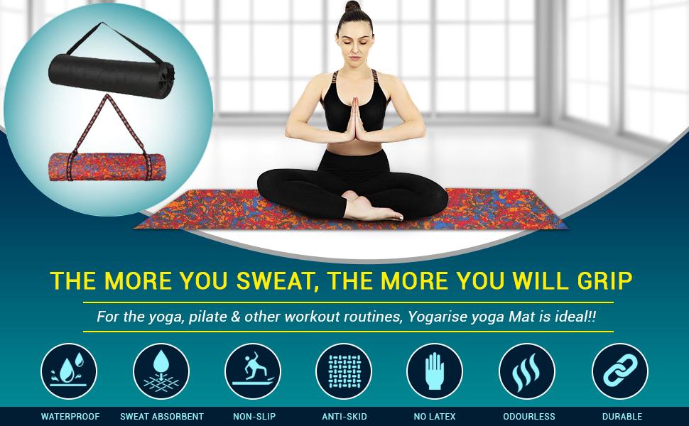 Yogarise Multicolour Yoga mat