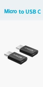 USB-C & Micro USB アダプタ